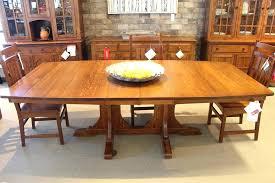 Quartersawn Oak Furniture Dining Table Mission Style Quarter Sawn