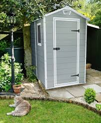 keter manor 4 ft w x 6 ft 4 in d plastic vertical storage shed