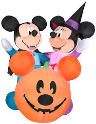Halloween Airblown Inflatables by Mickey Mouse Outdoor Inflatables Decorations Halloween Wikii