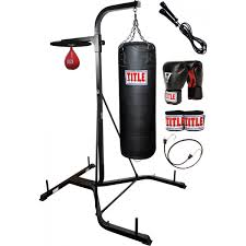 Punching Bag Ceiling Mount by Title Heavy Bag Speed Bag Stand With Bags Title Boxing