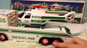 100 Hess Trucks Value 1995 Hess Truck Helicopter Review YouTube