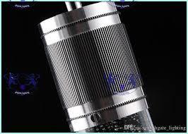 großhandel moderne licht kristall pendelleuchte blase kristall licht mit led le zylinder schatten droplight kronleuchter deckenleuchte bar