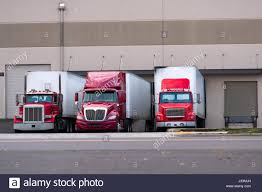 100 Old Semi Trucks Three Red Semi Truck Manufacturers And Various Modifications