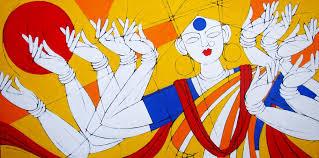 Top Indian Durga Goddess Paintings