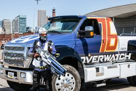 100 Monster Truck Crashes PAX East 2016 The Overwatch Monster Truck Got Into A Car Accident