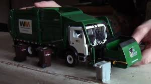 Custom First Gear 1:34 Scale Model Garbage Trucks - YouTube