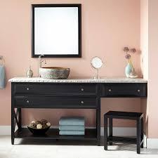 Bathroom Vanities With Matching Makeup Area by Single Sink Bathroom Vanity With Makeup Area Best Bathroom