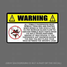 Funny Warning Stickers | EBay Amazoncom Baby On Board Sticker Carlos Hangover Funny Car Concrete Truck Funny Stickers Car Decals Comedy Bigfoot Hide And Seek World Champion Vinyl Decal No Road Problem 4x4 Offroad Truck Sticker Mind If I Smoke Diesel Powered Cheap Cool For Guys Custom Deandancecom Page 3 73 Powerstroke Diesel Decal Vinyl Diesel Pair Warning Ebay Think Twice Because I Wont Guns New Tail Snail Cartoon Jdm Auto