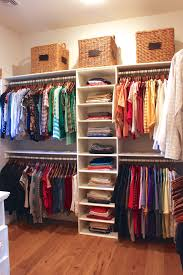 Organizing Small Walk In Closets Ideas Diy Closet Design