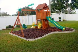 Exterior : DIY Backyard Playground Landscaping Backyard Playground ... Garden Design Ideas With Childrens Play Area Youtube Ideas For Kid Friendly Backyard Backyard Themed Outdoor Play Areas And Kids Area We Also Have An Exciting Outdoor Option As Part Of Main Obstacle Course Outside Backyards Trendy Lowes Creative Kidfriendly Landscape Great Goats Landscapinggreat 10 Fun Space Kids Try This To Make Your Pea Gravel In Everlast Contracting Co Tecthe Image On Charming Small Bbq Tasure Patio Experts The Most Family Ever Emily Henderson