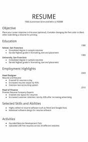 Simple Resume Template Download Free Templates D Theme The