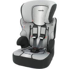 siège auto rehausseur enfant groupe 1 2 3 gris beline sp