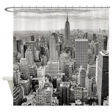 New York City Skyscrapers Shower Curtain by TheShowerCurtainPlace