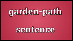 Garden-path Sentence Meaning - YouTube Can A Child Be Raised Free Of Gender Stereotypes This Family Lecture92 Lecture Notes 92 1 Syntax 11 Grammaticality1 The 10 Popular Horse Quotes Explained Thking Language Intelligence Ppt Download Canterbury Park Racing Poker And Table Games Shady Trade In American Horsemeat Latitude News 7 Stences That Sound Crazy But Are Still Grammatical Mental Floss Garden Path That Do Have Meaning Extract Data From Unstructured Documents Horse Raced Past The Barn Fell