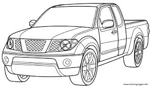 Ford Pickup Truck Car Coloring Pages