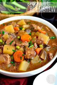 Crock Pot Beef Stew Is Easy Hearty And Comforting Toss Everything Into The