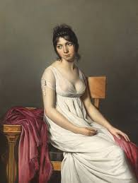 Portrait Of A Young Woman In White 1798 Jacques Louis David