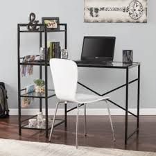 Black Writing Desk And Chair by Glass Desks U0026 Computer Tables Shop The Best Deals For Dec 2017