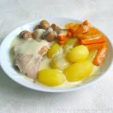 recette de cuisine ancienne blanquette de dinde à l ancienne la cuisine des anges