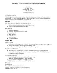 Communication Skills Examples For Resume Munication Example Of