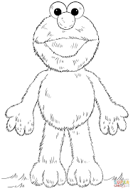 Click The Elmo Coloring Pages To View Printable