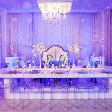 Decor Frozen Inspired Winter Wonderland Reception