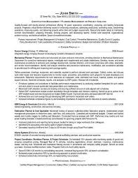 A Resume Template For Construction Manager You Can Download It And Make Your Own