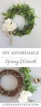An Easy And Inexpensive Wreath For Your Home Decor Wreaths Are A Fantastic Way To