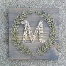 BlossomingBurlap Shared A New Photo On Etsy String Art LettersAnchor