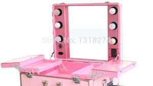 Crafty Inspiration Portable Makeup Vanity With Lights Wafibas Diy