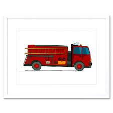 100 Fire Truck Cartoon Amazoncom The Art Stop Kids FIRE Illustration