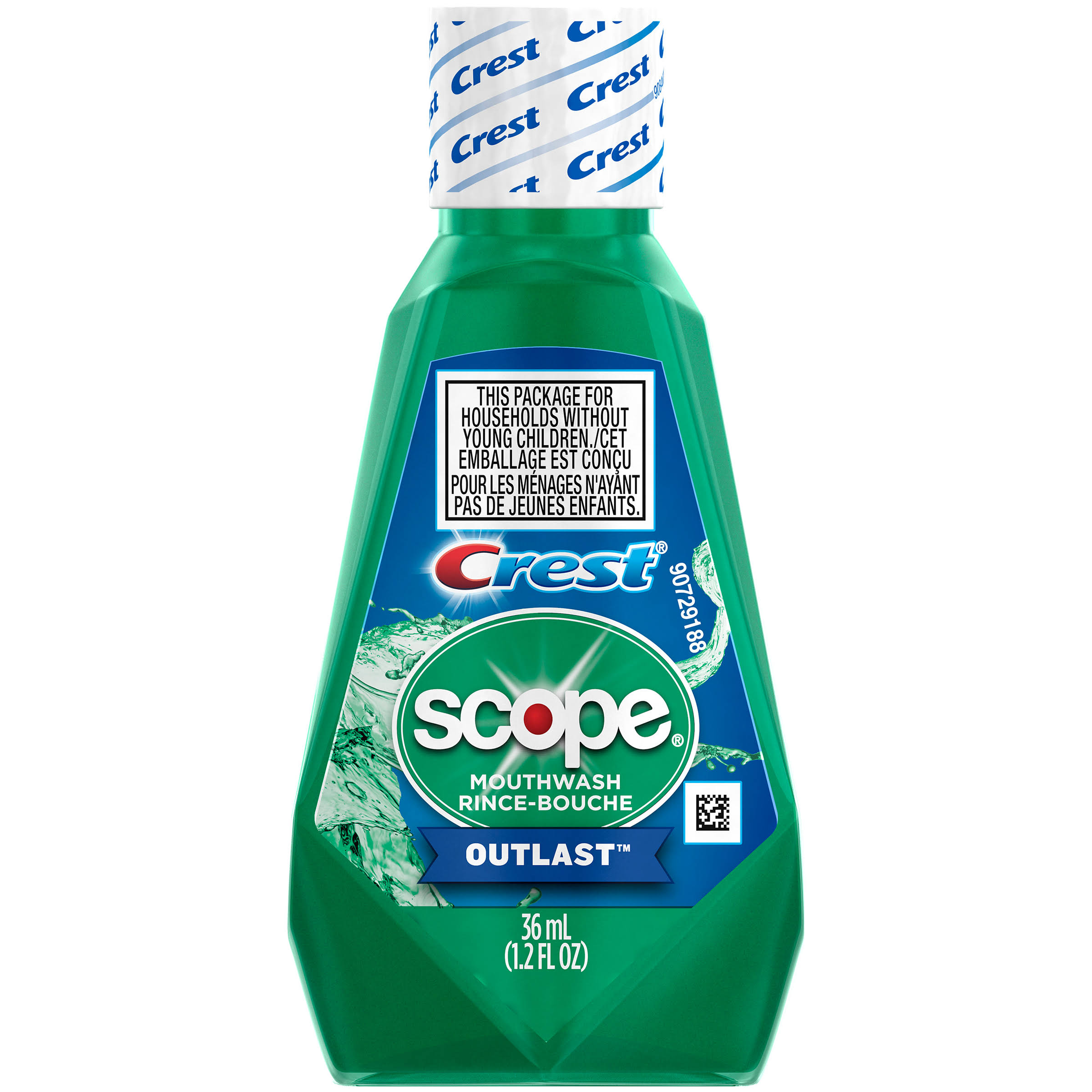 Crest Scope Outlast Mouthwash - 1.2oz