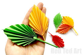 Easy Paper Leaf This Adorable DIY Is Based On An Origami Pattern