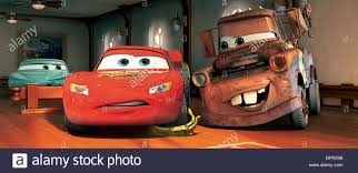 FLO LIGHTNING MCQUEEN & MATER THE TOW TRUCK CARS (2006 Stock Photo ...