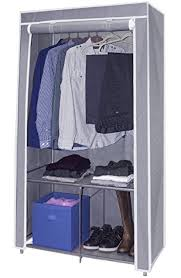 Amazon Sorbus Wardrobe Closet Portable Non Woven Fabric Free