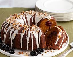 Solid Pack Pumpkin Nutrition by Pumpkin Cake With Blackberries