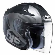 Hjc Cl 17 Chin Curtain Canada by Hjc Cl 33 Hjc Rpha Jet Metal White Grey Helmets Hjc Motorcycle