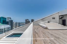 100 Penthouse Story Two In Brickell With Rooftop Pool Jacuzzi