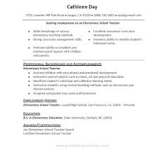 High School Graduate With No Work Experience Resume Sample 3 For Student