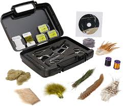 Portable Fly Tying Bench Plans by Amazon Com Fly Tying Kits Fly Tying Tools U0026 Materials Sports