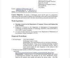 Sample Resume For E Year Experienced Software Engineer Teenagers