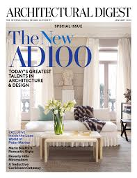 Interior Decorating Magazines List by The Editor At Large U003e Architectural Digest Celebrates The New