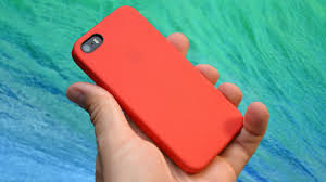 Apple iPhone 5s Leather Case Product RED