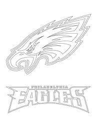 Click To See Printable Version Of Philadelphia Eagles Logo Coloring Page