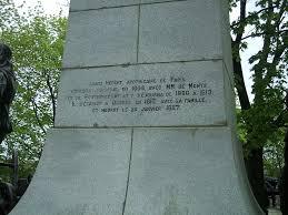 100 Louis Hebert Hbert Monument 2 The Inscription On The Hbert Monu