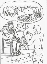 Joseph And His Brothers Coloring Page The Dreamer Pages