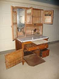 hoosier cabinets 1898 1940 were compact free standing baking