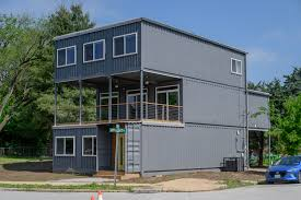 100 Container Shipping Houses Inside St Louis First Home Built From S