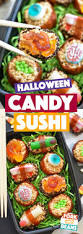 Halloween Candy Dish by Halloween Candy Sushi Fork And Beans