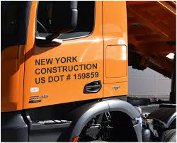 100 Signs For Trucks DOT Numbers Commercial Vehicle Sign NYC